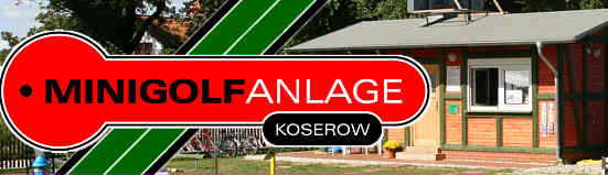 Minigolfanlanlage in Koserow